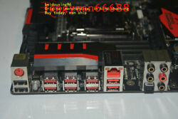 MSI X99S GAMING 9 AC overclocking game board Support I7 5820K 5960X $319.90