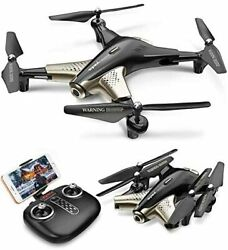 Foldable Drone with Camera for Adults 1080P FHD FPV Live Video Tap Fly 3D Flips $134.08