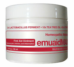 New Emuaid Max Homeopathic Ointment Natural Remedy for Over 120 Skin Disorders 2 $29.99
