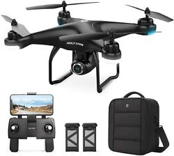 Holy Stone HS120D GPS Drone Camera 2K UHD FPV Quadcopter Auto Return $109.99