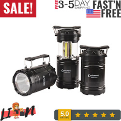 3 Pack Portable Outdoor COB Camping Lantern LED Torch Flashlight Water Resistant $20.99
