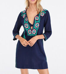 J. Crew embroidered beach tunic size XL style J3259 $100.00
