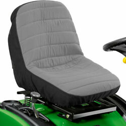 Lawn Tractor Seat Cover Mower Riding Protector Pockets Keep Tools Gear Storage $21.99