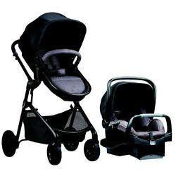Evenflo Pivot Modular Travel System with Safemax Infant Car Seat Casual Gray $368.41