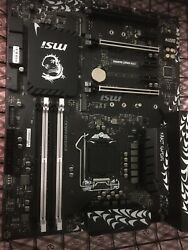 FOR MSI Z370 KRAIT GAMING Motherboard Updated Bios For 9th Gen CPU. $69.00