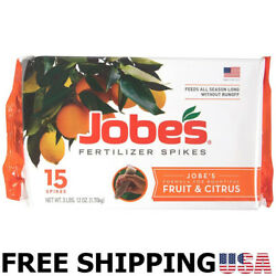 Fertilizer Spikes Fruit And Citrus Tree Apple Peach Cherry Nut Trees NEW $17.86