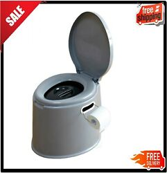 Portable Travel Toilet Camping Hiking Non Electric Waterless Composting Commode $64.47