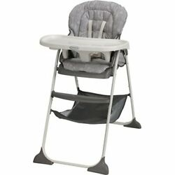 Graco Slim Snacker High Chair Ultra Compact High Chair Whisk $120.00