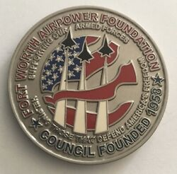 Fort Worth Air Power Foundation Sky Ball 3 Air Force Navy Marine Challenge Coin $6.95