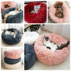 Pet Bed Cushion Pet Beds for Small Dogs Cat Beds for Large Cats Cat Bed Round $18.90