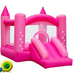 Inflatable Bounce House Castle Jump Jumper Moonwalk Bouncer Bouncy w Blower $167.99