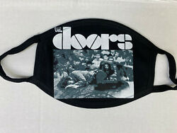 THE DOORS STAGE UNCONCIOUS LOGO Face Mask Cotton MUSIC ROCK BAND FREE SHIP $8.99
