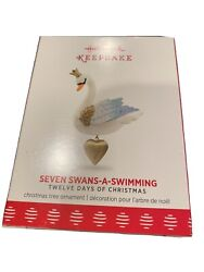 Hallmark 2017 Seven Swans a Swimming 12 Days of Christmas Series New $79.99