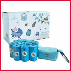 Diaper Disposal Bag Compostable Baby Disposable Sacks Poop Bags For W BLUE Pouch $15.40