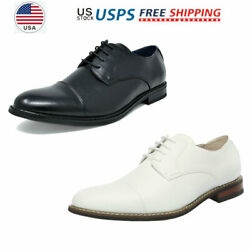 Mens Moda Italy Classic Modern Formal Oxford Shoes Wingtip Lace Up Dress Shoes $28.51