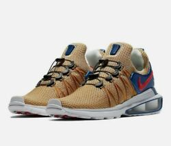 Nike Shox Gravity Mens AR1999 700 Metallic Gold Red Blue USA Olympic Size 12 New $59.95
