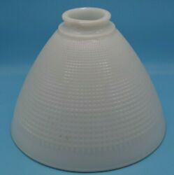 Torchiere Glass Lamp Diffuser Shade 4 Stiffel Rembrandt Lamps 8 x 5 7 8in $39.99