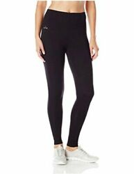 Spalding Women#x27;s High Waisted Legging Black Medium Black Size Medium t9a3 $12.00