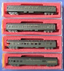 Rivarossi Con Cor Vintage N Scale Great Northern HW Passenger Cars Qty: 4 $59.87