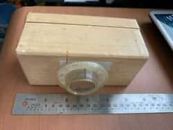 HOMEMADE CRYSTAL RADIO WITH VINTAGE PARTS $16.99