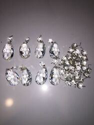 Vintage Prisms Lot Of 8 Small Round 33 Count. B2 1 $20.00