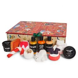 Lush Cosmetics 12 Days Of Christmas Gift Set Unopened  $105.00