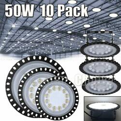 10X 50W 50 Watt UFO LED High Bay Light Shop Lights Commercial Lighting Fixture