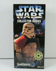 Sandtrooper 1997 12quot; STAR WARS 1 6 Scale Collector Series MIB $37.49