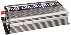 GoWISE Power 1000W Pure Sine Wave Inverter 12V DC to 120V AC with 2 AC Outlets $212.20