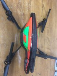 USED: Parrot AR Drone 2.0 Battery and wall charger And Drone $75.99