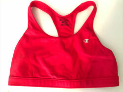 Women's Champion Sports Bra Size Large Hot Pink $6.50