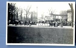 FOUND Bamp;W PHOTO U 9796 VIEW OF PEOPLE ON WALLTREESOTHERS $6.98