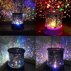 LED Light Projector Lamp Cosmos Starry Celestial Star Sky Galaxy Projection Lamp $14.89