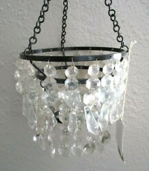 DISCONTINUED ILLUMINATIONS HANGING CHANDELIER CANDLE HOLDER Brand New in Box BIN $25.00