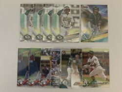KHRIS DAVIS LOT OF 12 OF VARIOUS TOPPS amp; BOWMAN WITH CHROME $1.75