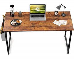 CubiCubi Study Computer Desk 47quot; Home Office Writing Small Desk Modern Simple $68.51