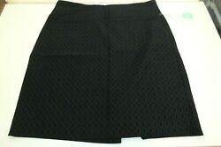 Margaret M Christiana Textured Pencil Skirt for Stich Fix Navy Sz M Petite NWT $21.99