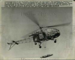 1957 Press Photo The French built helicopter the Aloutte II $19.99