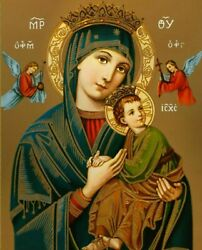 Print Virgin Mary Our Lady of Perpetual Help Catholic Religion $11.99