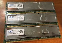 OCZ Technology PC 3200 3X 512MB EL DDR Platinum Dual Ch $14.99