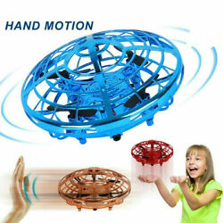 Mini Drone Quad Induction Levitation UFO Flying Toy Hand controlled Kids Gift $10.99
