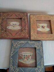 Rustic Home Decor Wall Hangings Set of 3 $25.00