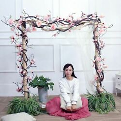 Magnolia Hanging Branches Wall Flowers Ivy Vine Wreath Artificial Flowers Arch $34.99