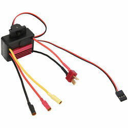 35A Small Brushless Electronic Speed Controller ESC For 1 18 1 16 RC Car Red $18.29