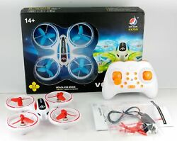 Mini Quadcopter Drone With LED Lights Red $26.99