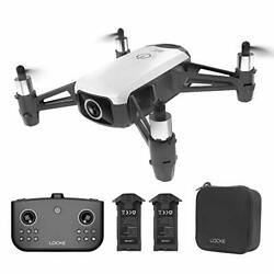 HR WiFi RC Drone with Camera Gesture Control Quadcopter for White $61.73