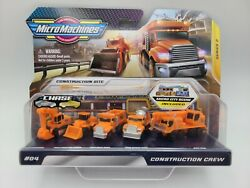 MICRO MACHINES 2020 CONSTRUCTION CREW SITE 5 Pack SERIES 2 FREE SHIPPING $23.33