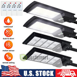 250W 99000LM Commercial Solar Street Light LED IP67 Dusk to Dawn Road LampPole