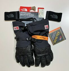 The North Face Gore Tex Womens Big Mountain Gloves Size Small Retails $100 $52.00