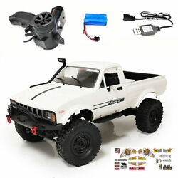 WPL RC Truck C24 1 16 4x4 4WD Scale Crawler Pickup Off Road RTR US Seller $59.95